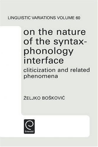9780080439358: On the Nature of the Syntax-Phonology Interface (North-Holland Linguistic Series: Linguistic Variations)