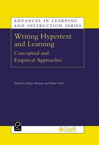 9780080439877: Writing Hypertext and Learning (Advances in Learning and Instruction)
