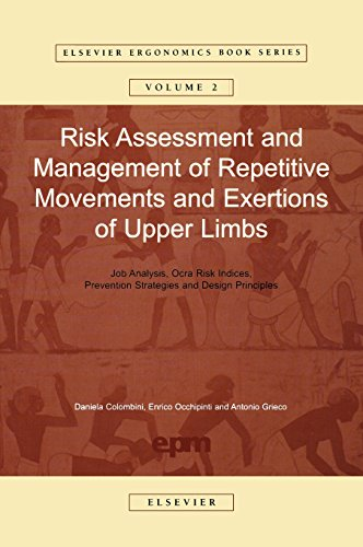 9780080440804: Risk Assessment and Management of Repetitive Movements and Exertions of Upper Limbs: Job Analysis, Ocra Risk Indicies, Prevention Strategies and Design Principles (Elsevier Ergonomics Book Series)