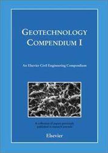 9780080440958: Geotechnology Compendium I (Elsevier Civil Engineering Compendium) (Pt. 1)