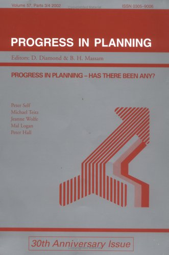 9780080441436: Progress in Planning: Has There Been Any?