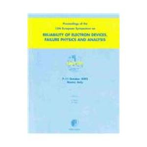 9780080441801: Proceedings of the 13th European Symposium on the Reliability of Electron Devices, Failure Physics and Analysis