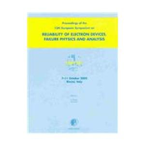9780080441825: Proceedings of the 13th European Symposium on the Reliability of Electron Devices, Failure Physics and Analysis: Proceedings of the 13th European ... (ESREF 2002) Rimini, Italy 7-11 October 2002