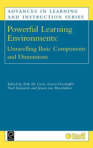 9780080442754: Powerful Learning Environments: Unravelling Basic Components and Dimensions (Advances in Learning and Instruction)