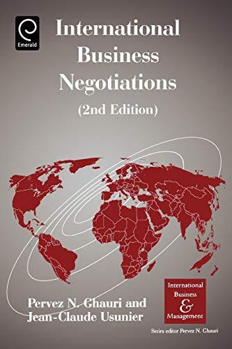 9780080442938: International Business Negotiations (International Business and Management)