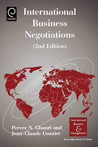 9780080442938: International Business Negotiations, 2nd.Edition (International Business & Management)