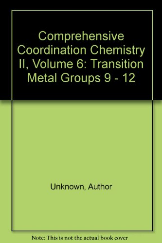 9780080443287: Comprehensive Coordination Chemistry II, Volume 6: Transition Metal Groups 9 - 12