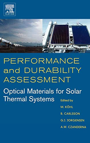 9780080444017: Performance and Durability Assessment:: Optical Materials for Solar Thermal Systems