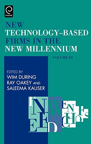 9780080444024: New Technology Based Firms in the New Millennium Volume III (New Technology-Based Firms)