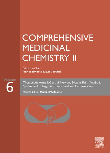 9780080445199: Comprehensive Medicinal Chemistry II: Volume 6: THERAPEUTIC AREAS I: Central Nervous System, Pain, Metabolic Syndrome, Urology, Gastrointestinal and Cardiovascular