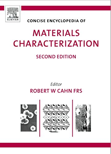 9780080445472: Concise Encyclopedia of Materials Characterization, Second Edition (Advances in Materials Science and Engineering)
