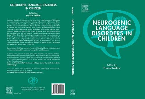 9780080445496: Neurogenic Language Disorders in Children (International Association of Logopedics and Phoniatrics)