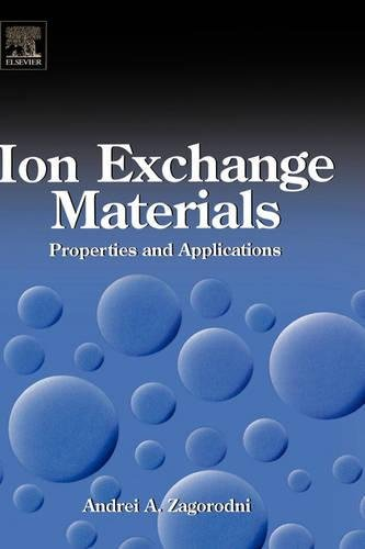 9780080445526: Ion Exchange Materials: Properties and Applications