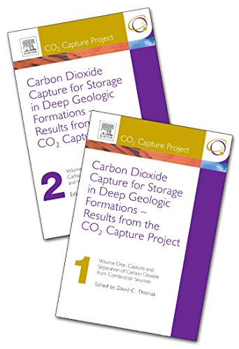 9780080445700: The CO2 Capture and Storage Project (CCP) for Carbon Dioxide Storage in Deep Geologic Formations for Climate Change Mitigation: Capture and Separation ... v. 1: Results from the CO2 Capture Project