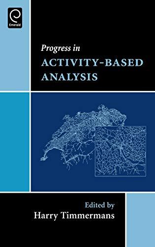 9780080445816: Progress in Activity-Based Analysis