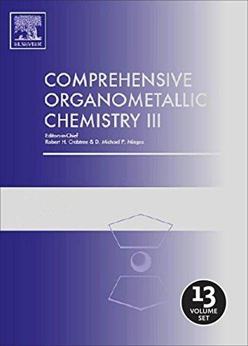COMPREHENSIVE ORGANOMETALLIC CHEMISTRY III, 13 VOLUMES SET: CRABTREE ROBERT ET.AL