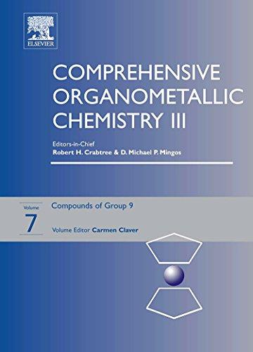Comprehensive Organometallic Chemistry III: Group 9 v. 7 (Hardback): Carmen Claver