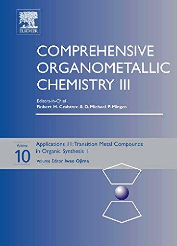 Comprehensive Organometallic Chemistry III: Applications II -: Iwao Ojima
