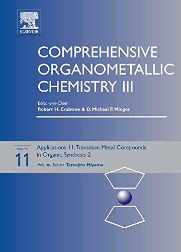 Comprehensive Organometallic Chemistry III, Volume 11: Applications