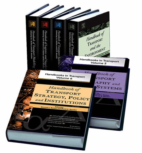 9780080446141: Handbooks in Transport 6-Volume Set (Handbooks in Transport S)