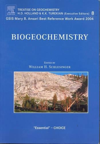 9780080446424: Biogeochemistry: Treatise on Geochemistry, Volume 8