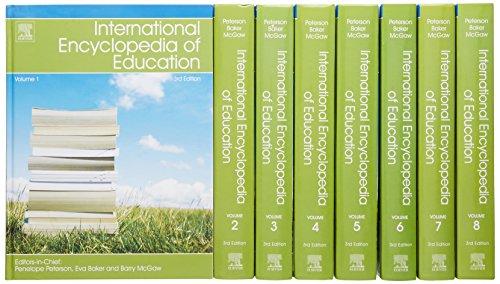 International Encyclopedia of Education, 8-Volume Set, Third