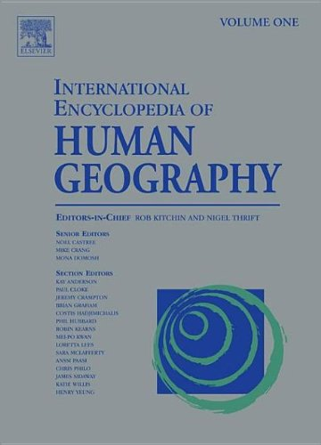 9780080449104: International Encyclopedia of Human Geography