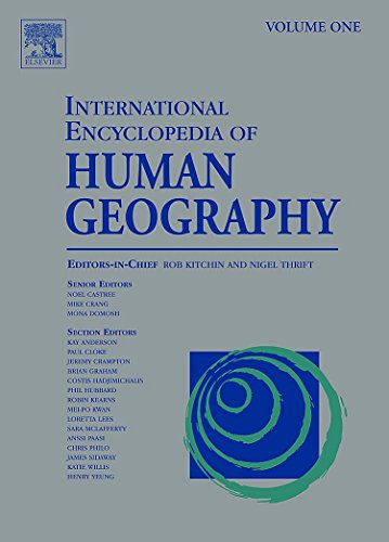9780080449111: International Encyclopedia of Human Geography: A 12-Volume Set
