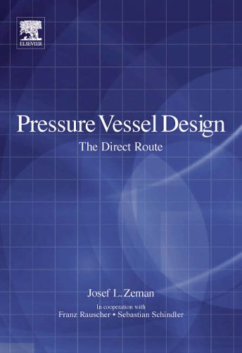 9780080449500: Pressure Vessel Design: The Direct Route (Advances in Structural Integrity)