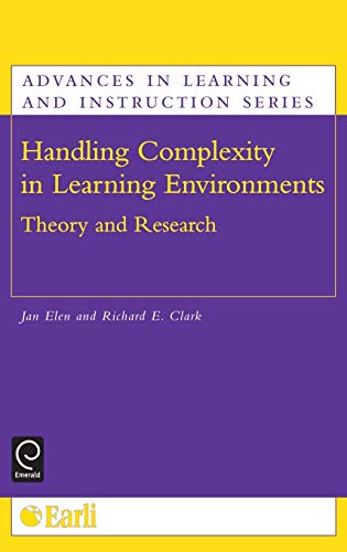 9780080449869: Handling Complexity in Learning Environments: Theory and Research (Advances in Learning and Instruction)