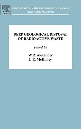 9780080450100: Deep Geological Disposal of Radioactive Waste, Volume 9 (Radioactivity in the Environment)