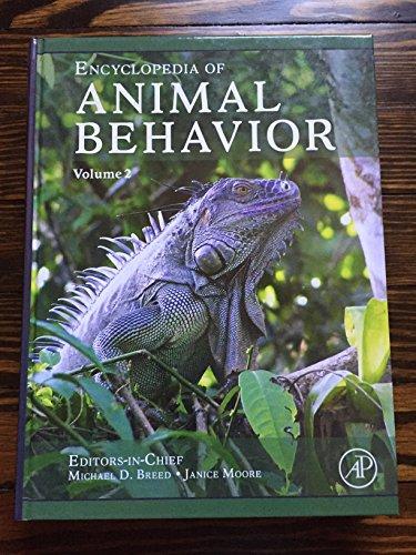 9780080453354: Encyclopedia of Animal Behavior, Volume 2
