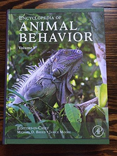 9780080453361: Encyclopedia of Animal Behavior, Volume 3