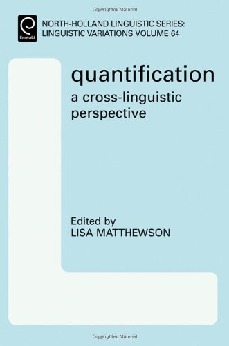 9780080453507: 'Quantification: A Cross-Linguistic Perspective', Volume 64 (North-Holland Linguistic Series: Linguistic Variations)