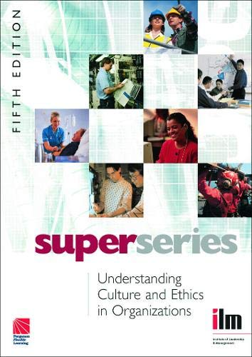 9780080464282: Understanding Culture and Ethics in  Organizations Super Series