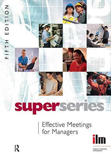 9780080464398: Effective Meetings for Managers Super Series, Fifth Edition
