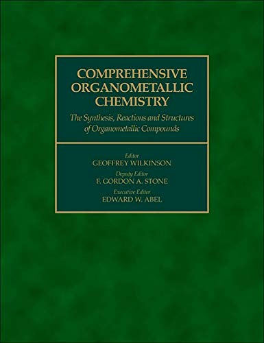9780080465180: Comprehensive Organometallic Chemistry (Pt. 1)