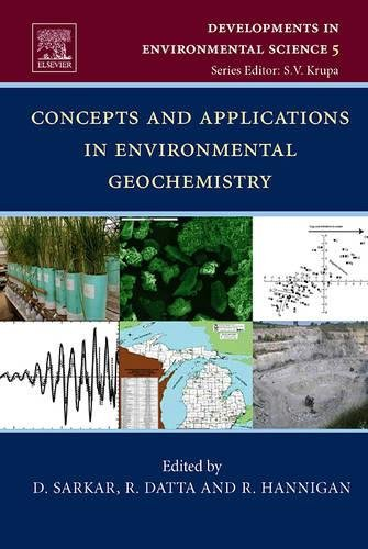 9780080465227: Concepts and Applications in Environmental Geochemistry (Developments in Environmental Science)