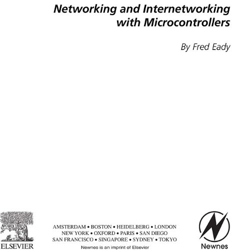 9780080470115: [Networking and Internetworking with Microcontrollers] (By: Fred Eady) [published: April, 2004]
