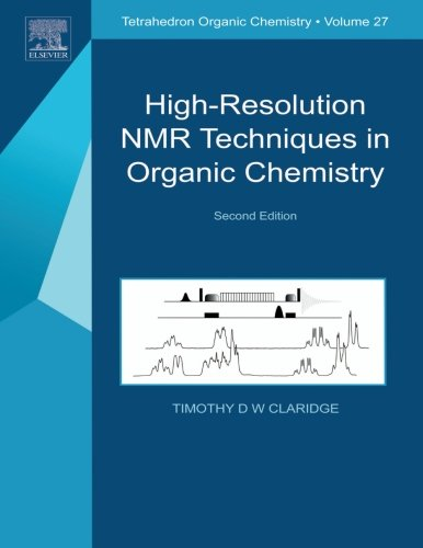 9780080548180: High-Resolution NMR Techniques in Organic Chemistry (Volume 2) (Tetrahedron Organic Chemistry, Volume 2)