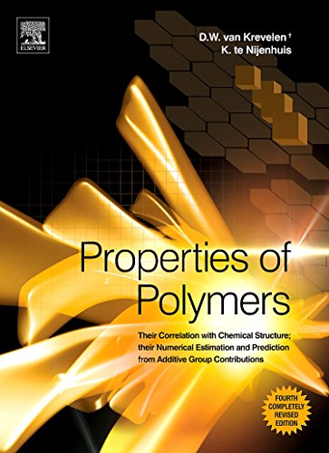 9780080548197: Properties of Polymers: Their Correlation with Chemical Structure; their Numerical Estimation and Prediction from Additive Group Contributions