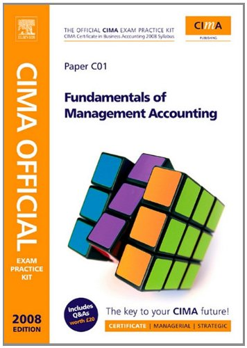 9780080886206: CIMA Official Exam Practice Kit Fundamentals of Management Accounting, Second Edition: CIMA Certificate in Business Accounting, 2006 Syllabus