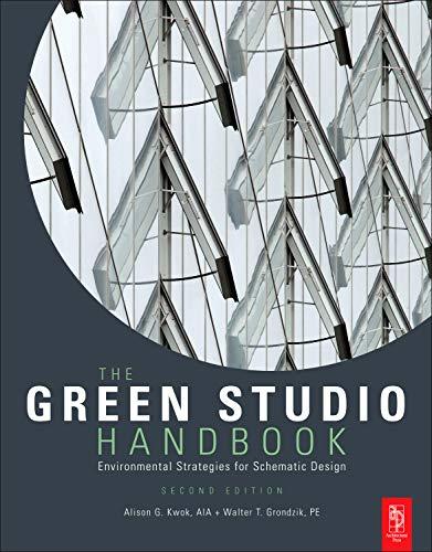 9780080890524: The Green Studio Handbook: Environmental Strategies for Schematic Design