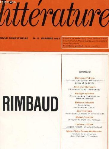 9780080902975: Rimbaud