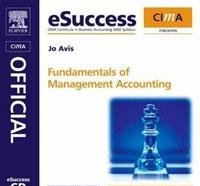 9780080941639: Cima Esuccess CD Fundamentals of Management Accounting