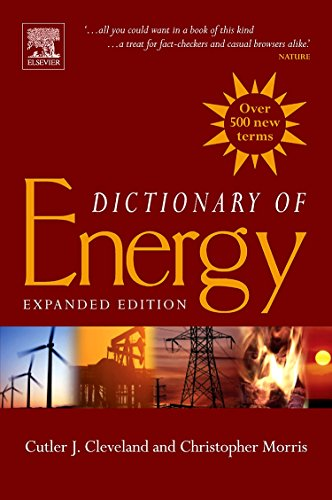 9780080964911: Dictionary of Energy: Expanded Edition