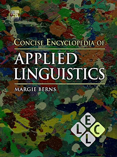 9780080965024: Concise Encyclopedia of Applied Linguistics (Concise Encyclopedias of Language and Linguistics)