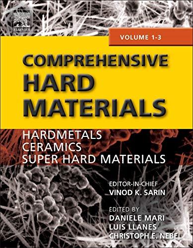 Comprehensive Hard Materials: Sarin,V.
