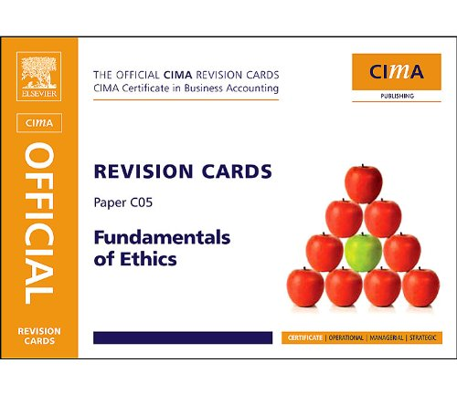 9780080965833: CIMA Revision Cards Fundamentals of Ethics, Corporate Governance & Business Law, Third Edition (CIMA Certificate Level 2008)