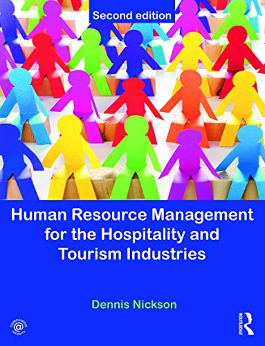 Human Resource Management For The Hospitality And: Nickson